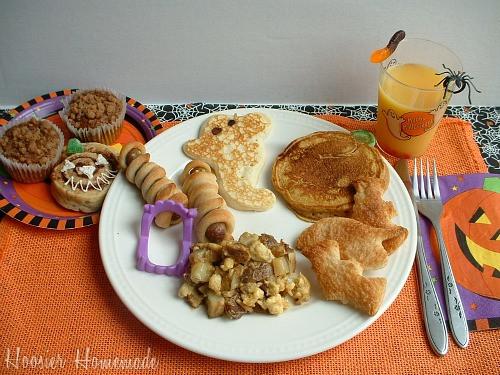 Halloween Breakfast Recipes  Halloween Breakfast Food Hoosier Homemade