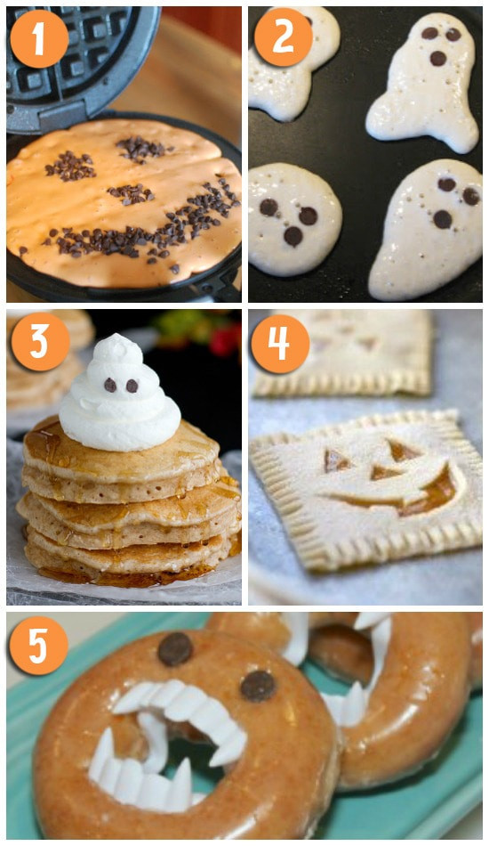 Halloween Breakfast Recipes  50 FUN Halloween Foods Halloween Themed Food for Every Meal