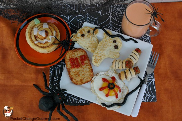 Halloween Breakfast Recipes  Halloween Breakfast Recipe