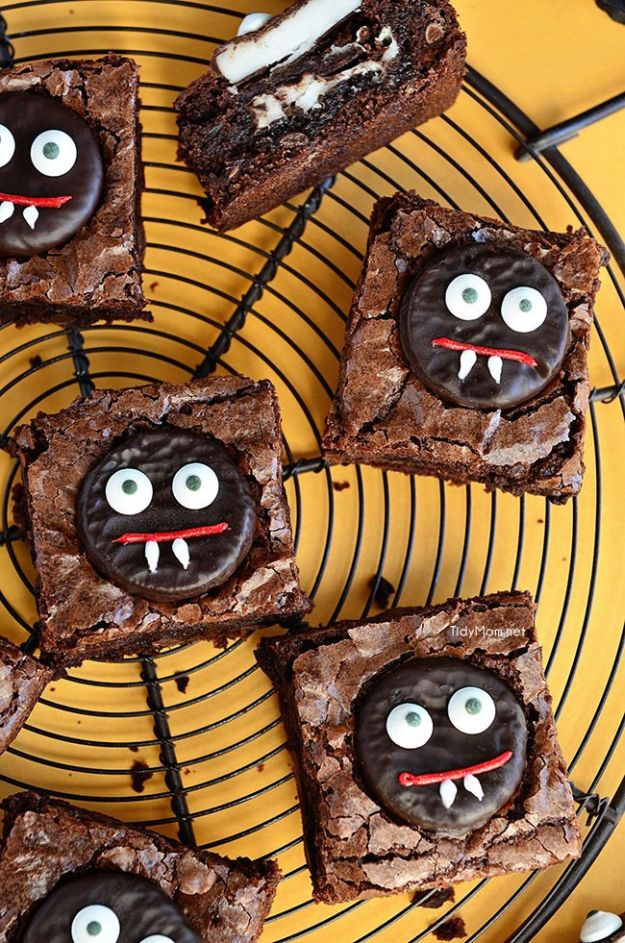 Halloween Brownies Ideas  13 Fun and Spooky Halloween Party Food Ideas For Your