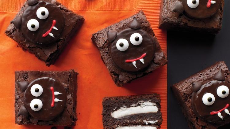 Halloween Brownies Ideas  Scaredy Cat Brownies