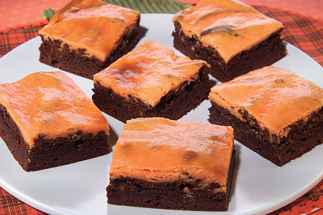 Halloween Brownies Recipes  Halloween Cheesecake Brownies Kraft Recipes
