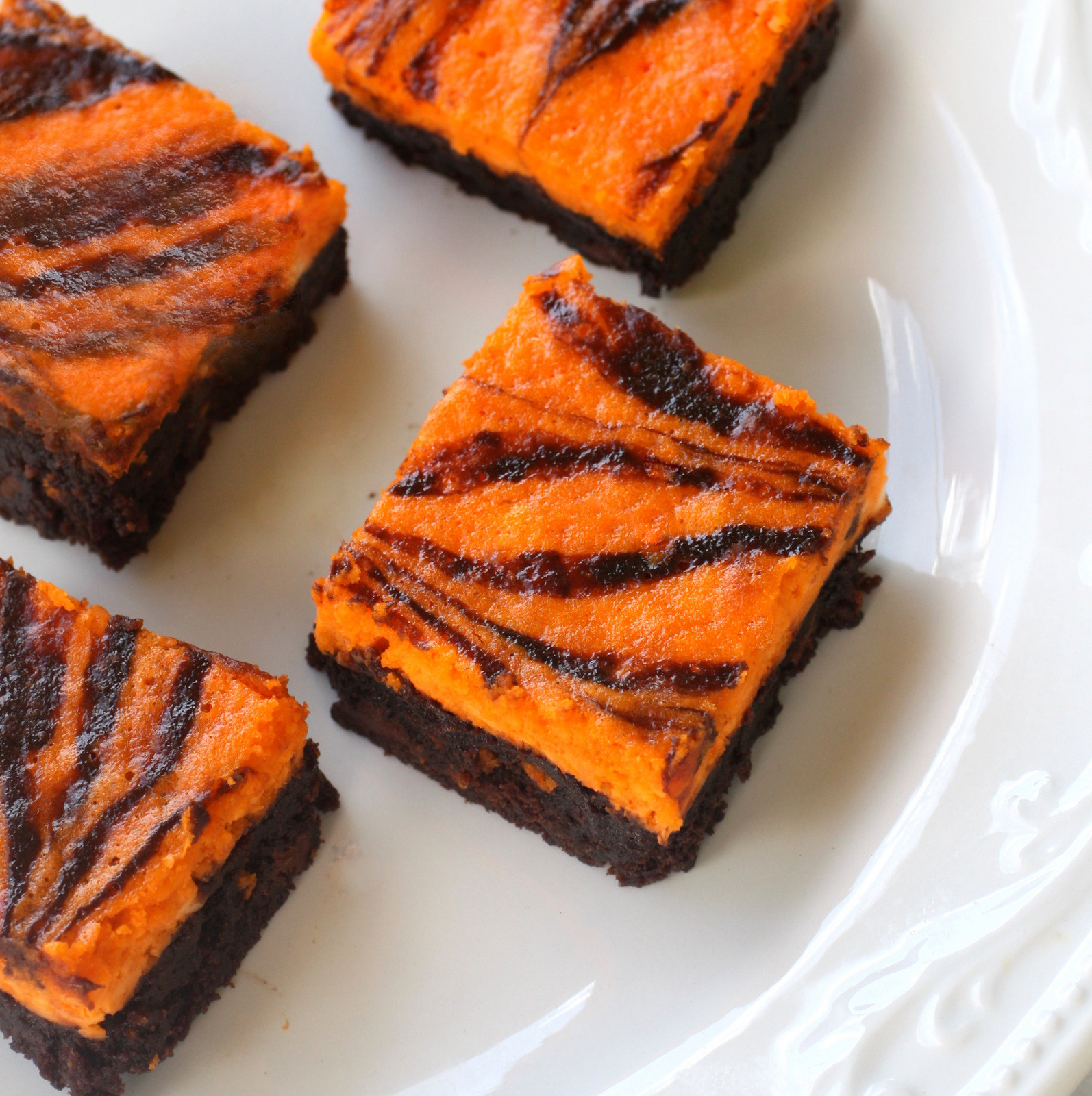 Halloween Brownies Recipes  Scream Cheese Brownies The Girl Who Ate Everything