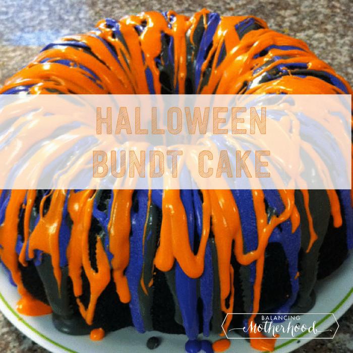 Halloween Bundt Cake  Christmas Bundt Cake Recipe Balancing Motherhood