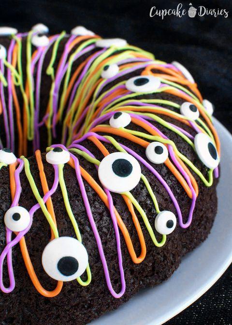 Halloween Bundt Cake  70 Easy Halloween Cakes Halloween Cake Recipes and