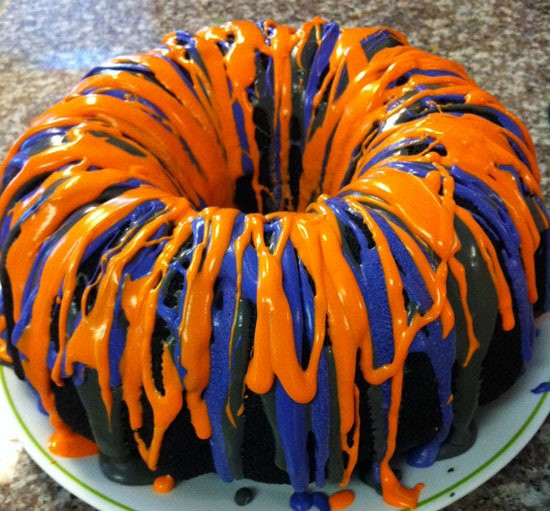 Halloween Bundt Cake  Super Cool and Super Easy Halloween Bundt Cake Balancing