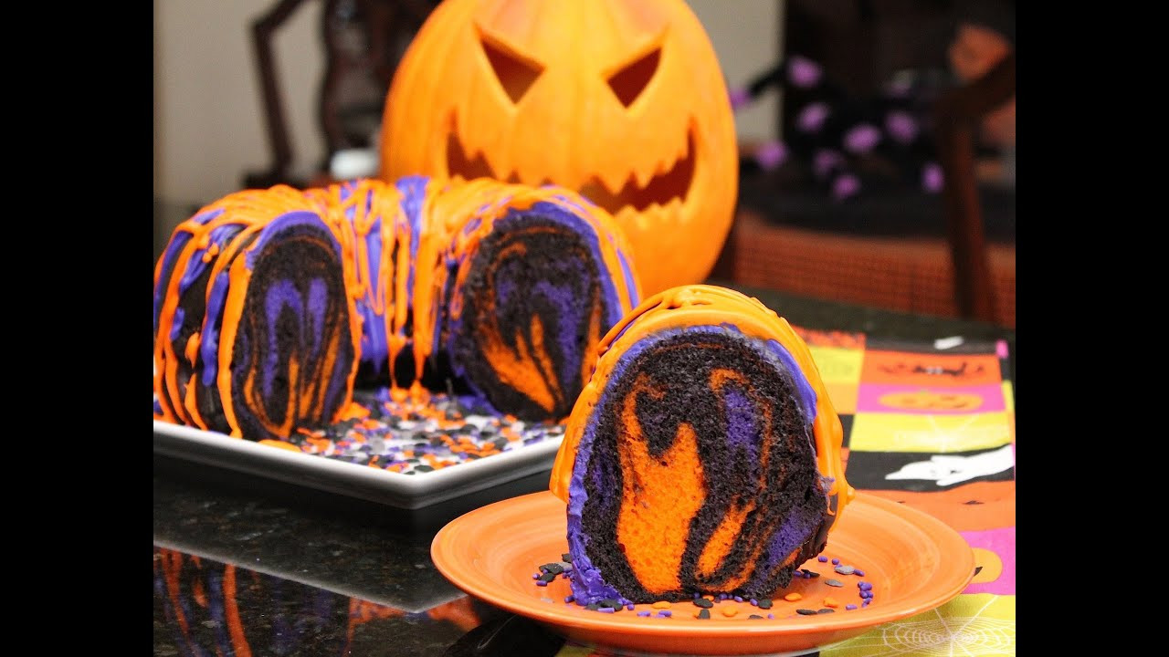 Halloween Bundt Cake  Famous Halloween Rainbow Party Cake Recipes and Ideas