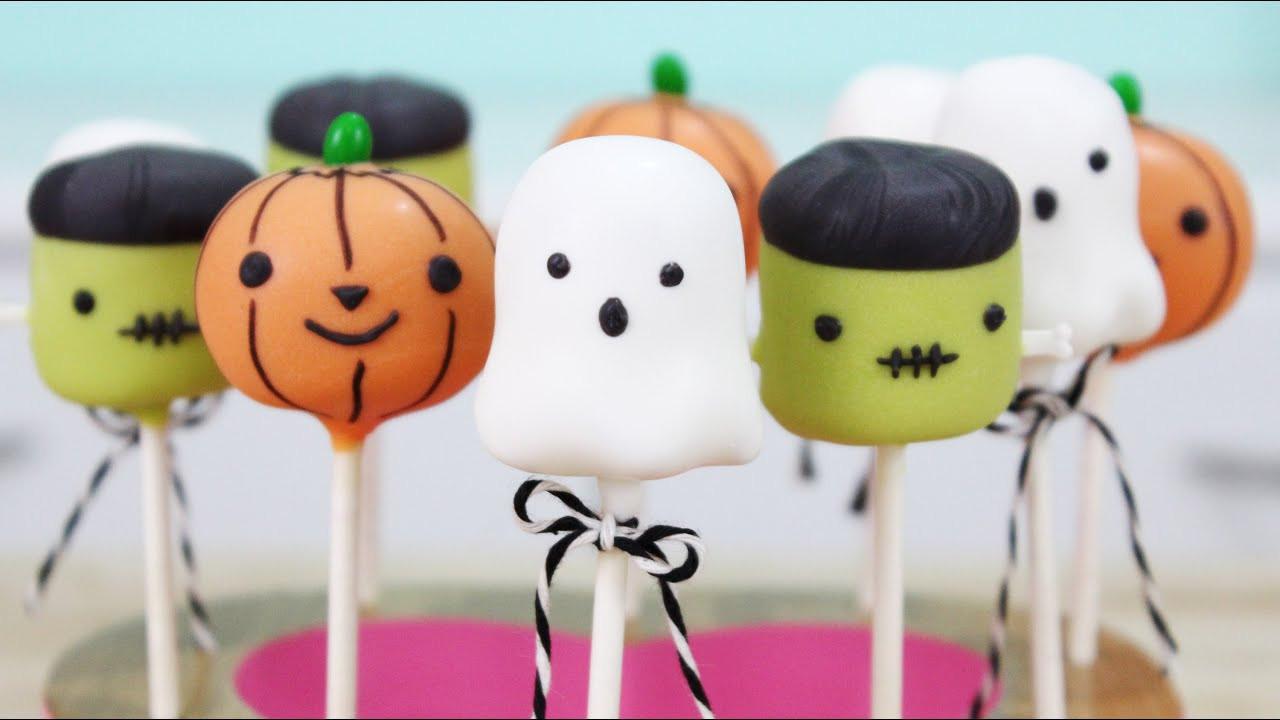 Halloween Cake Pops Recipe  How to Make Halloween Cake Pops