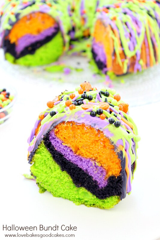 Halloween Cake Recipe  Halloween Bundt Cake
