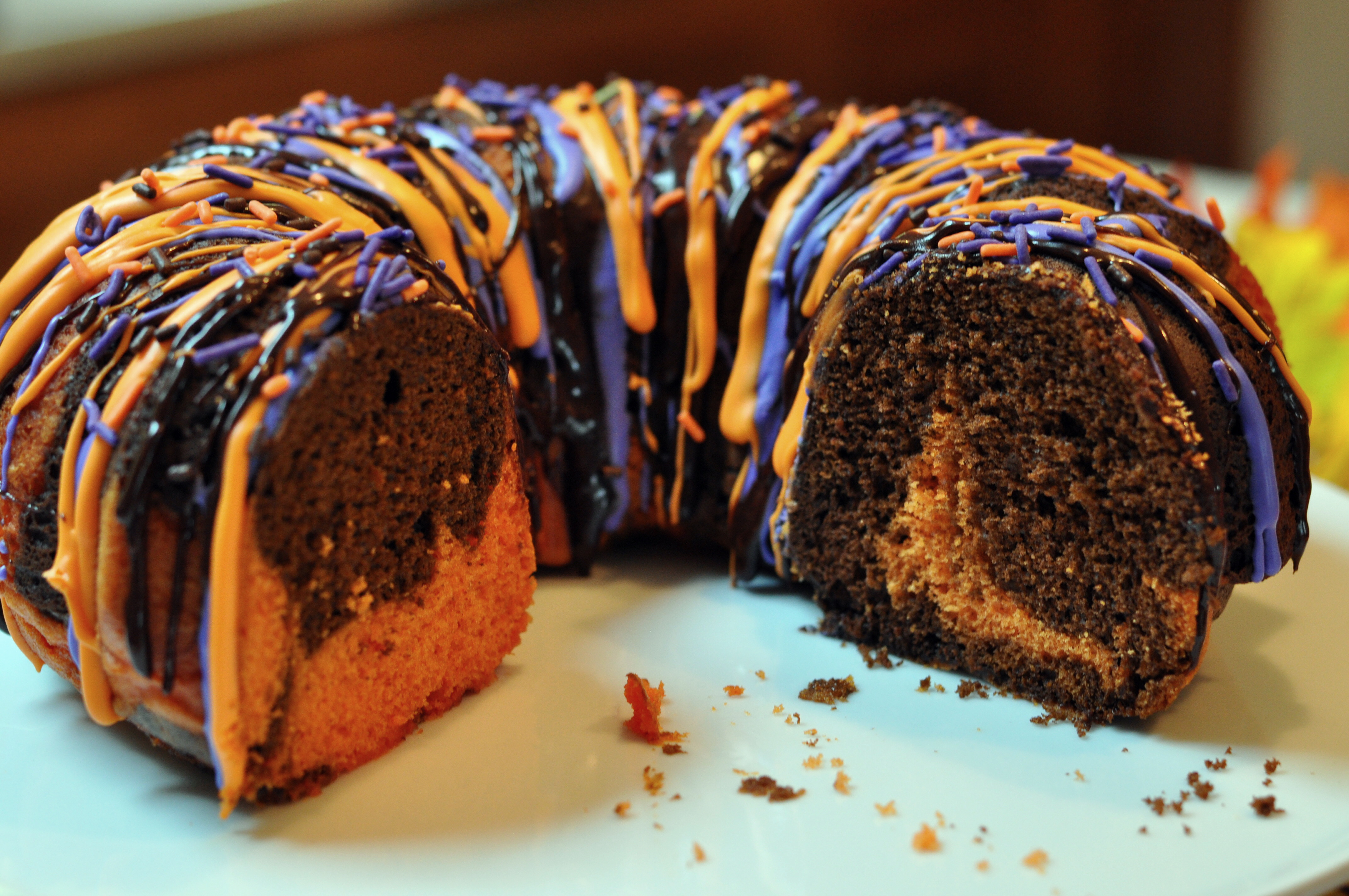 Halloween Cake Recipes  Halloween Bundt Cake Recipe Mommy s Fabulous Finds