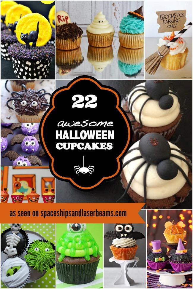 Halloween Cakes And Cupcakes  22 Amazing Halloween Cupcakes Spaceships and Laser Beams