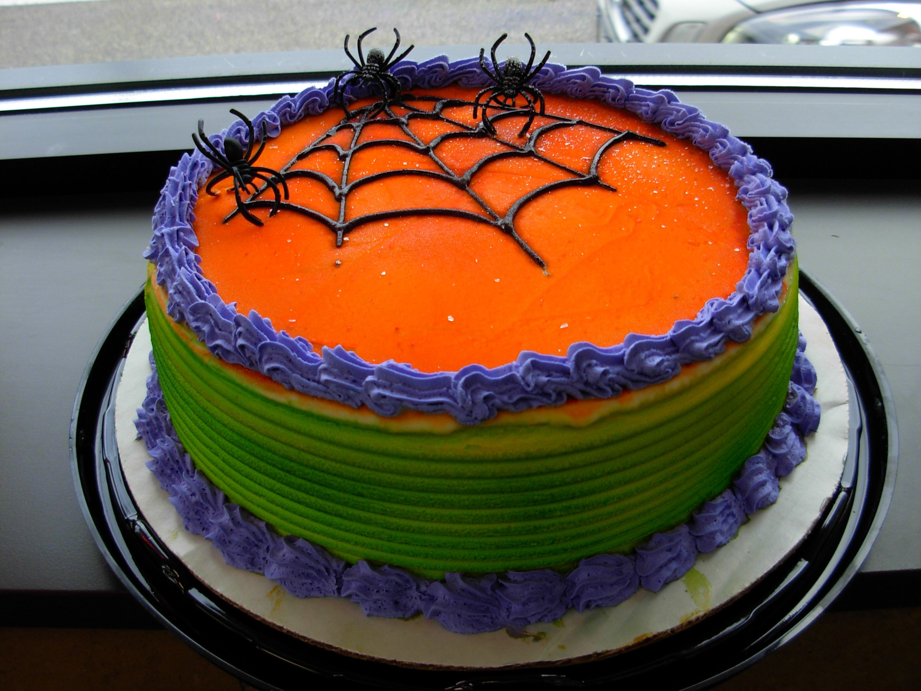 Halloween Cakes At Walmart  Halloween Web DQ Dairy Queen Ice Cream Cake