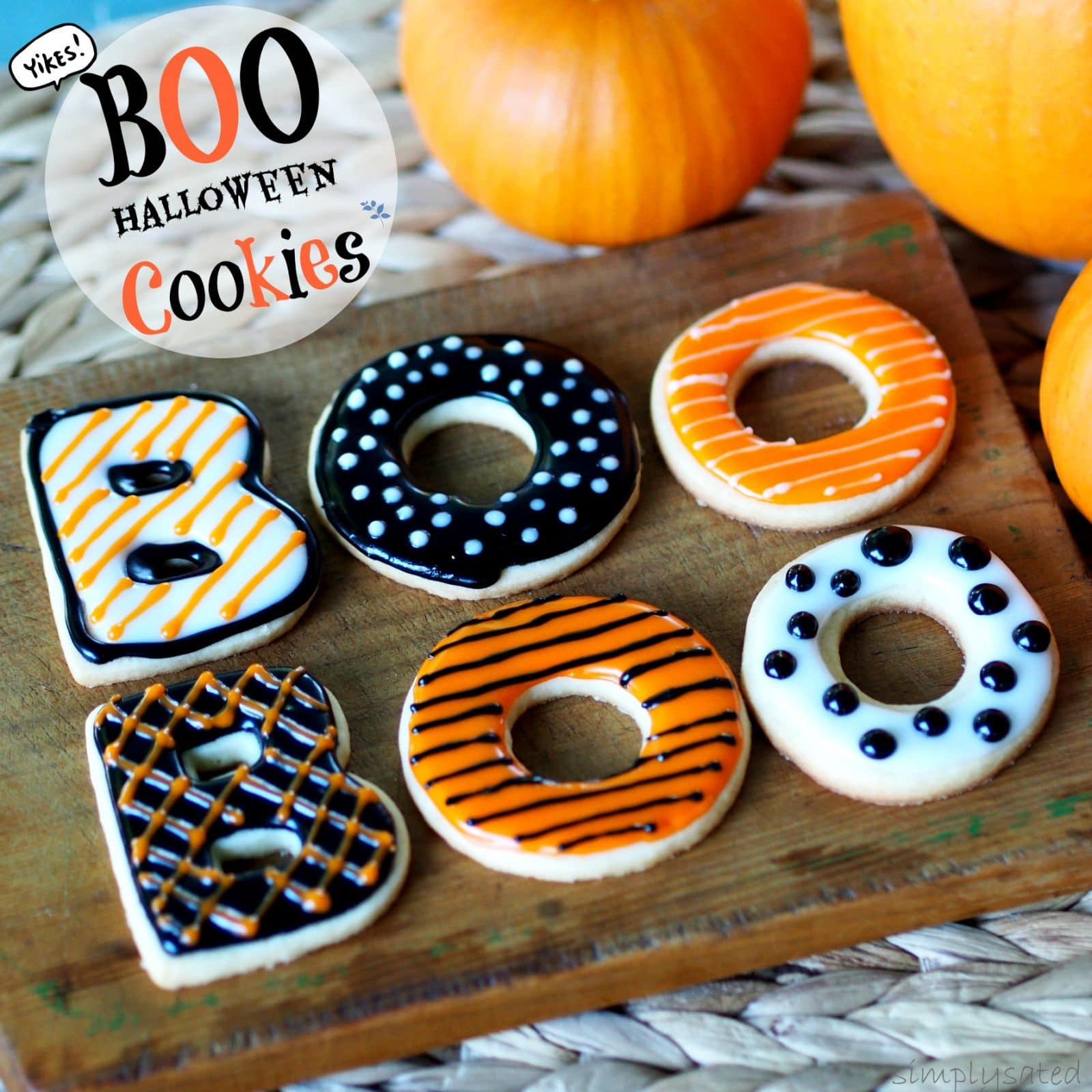 Halloween Cakes At Walmart  BOO Halloween Cookies