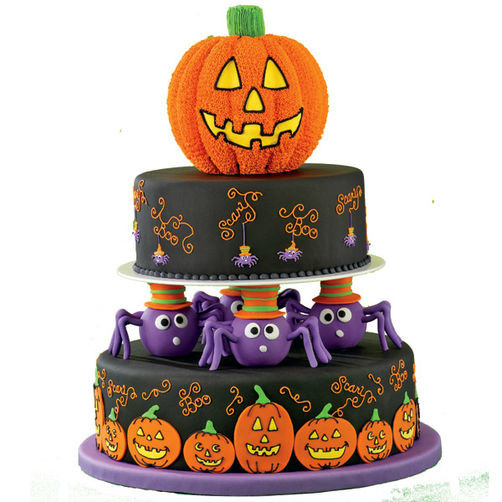 Halloween Cakes For Kids  Spin a Scary Tale Cake