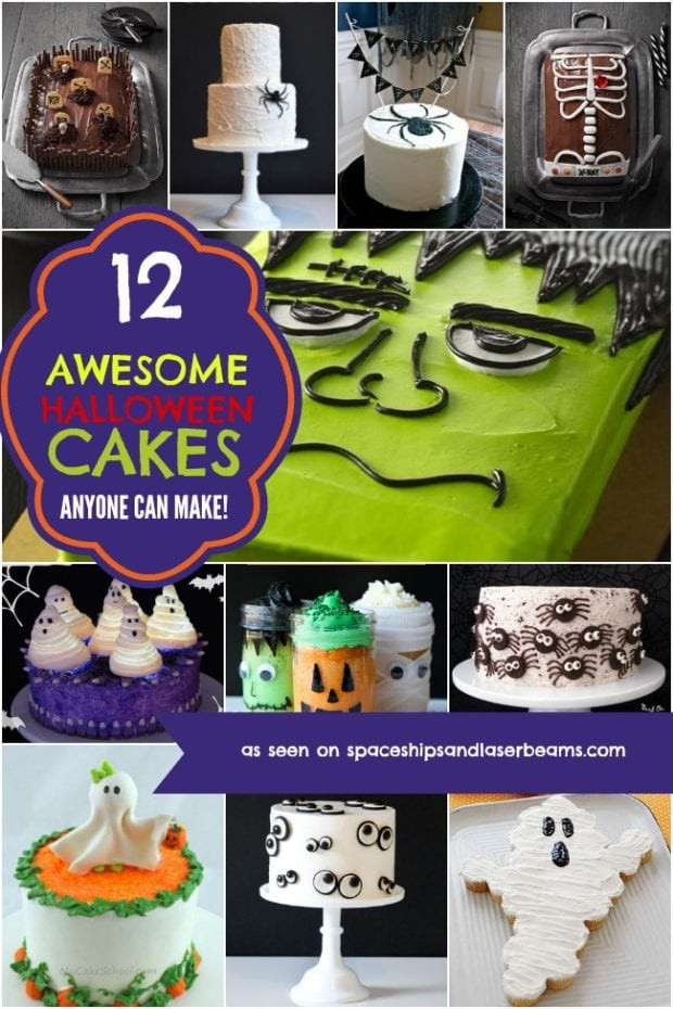 Halloween Cakes Games  12 Awesome Halloween Cakes Anyone Can Make Spaceships