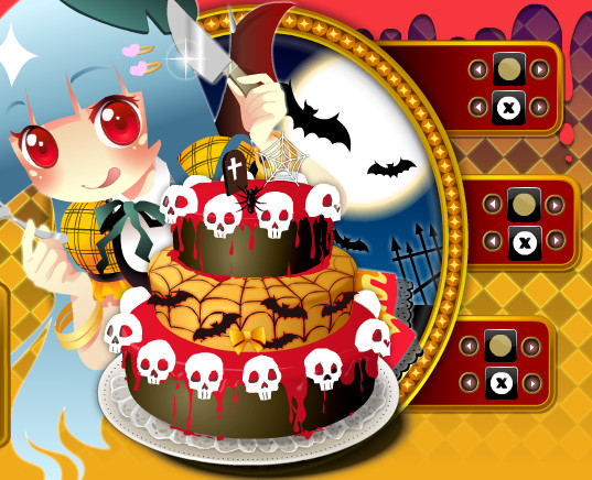 Halloween Cakes Games  Halloween Cake Style Cooking Games by willbeyou on