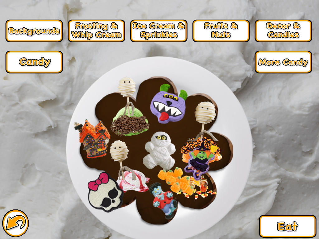 Halloween Cakes Games  Halloween Cake Maker Bake & Cook Candy Food Game