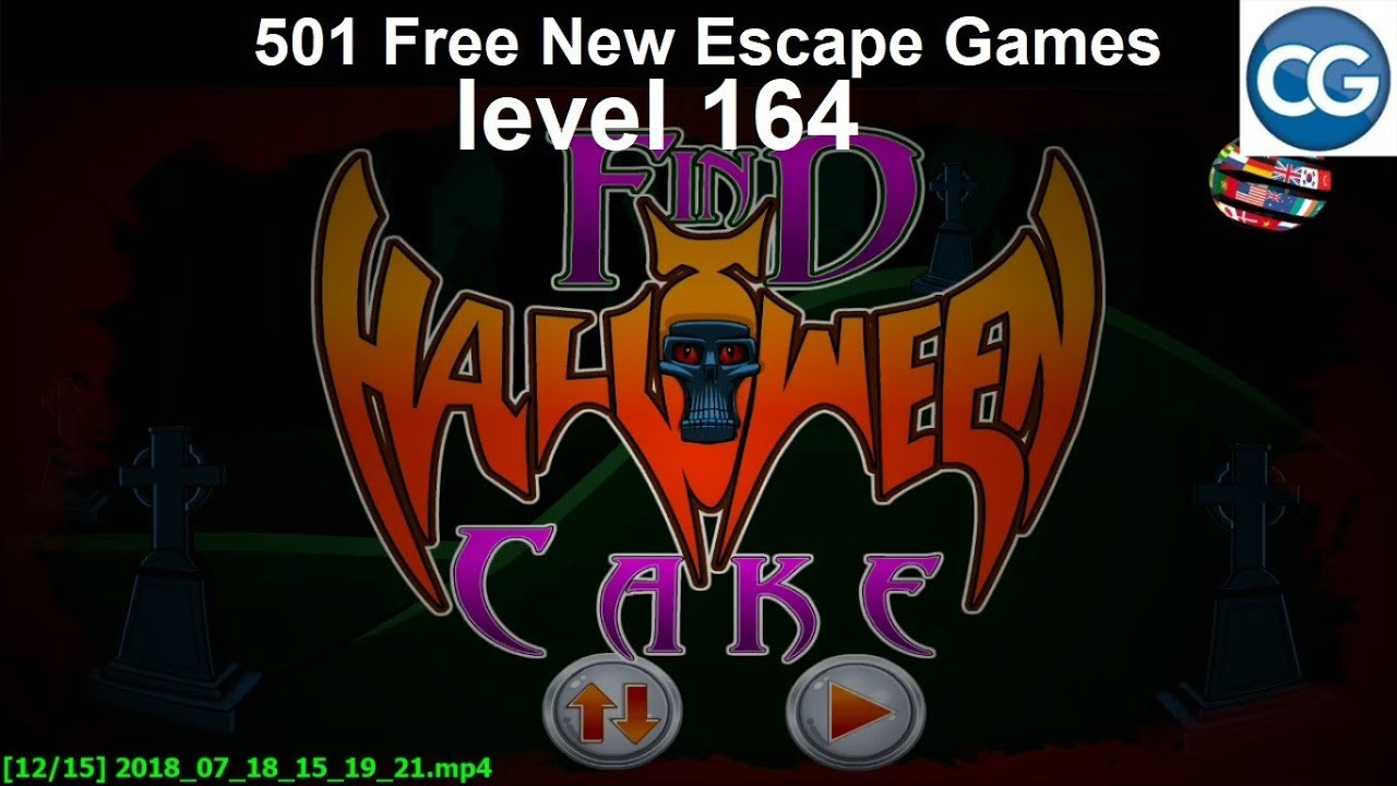 Halloween Cakes Games  [Walkthrough] 501 Free New Escape Games level 164 Find