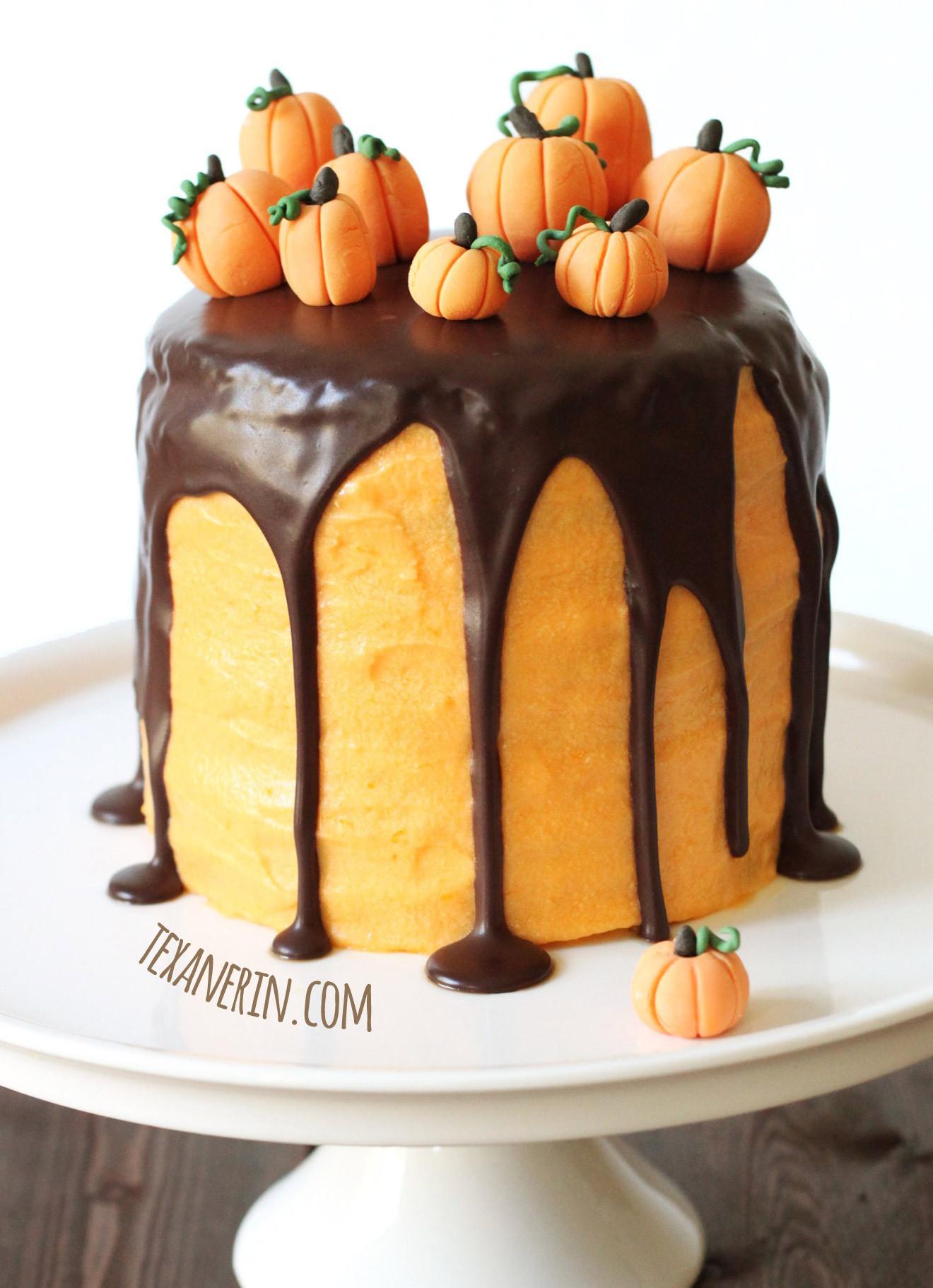 Halloween Cakes Recipes  Chocolate Orange Halloween Cake whole grain