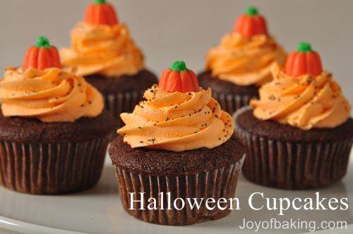Halloween Cakes Recipes  Halloween Cupcakes Recipe Joyofbaking Tested Recipe