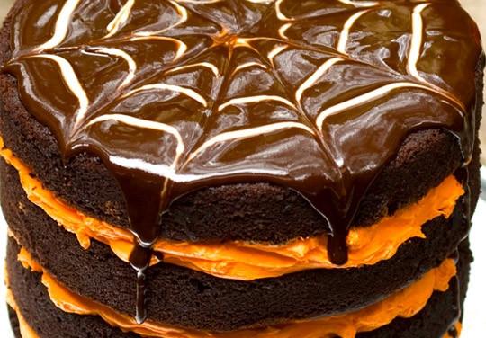 Halloween Cakes Recipes  Vegan Layered Halloween Cake Very Vegan Recipes