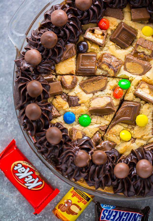 Halloween Candy Cakes  Halloween Candy Cookie Cake Baker by Nature