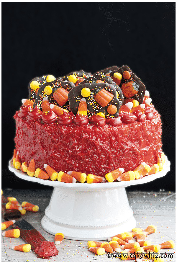 Halloween Candy Cakes  Halloween Candy Cake CakeWhiz