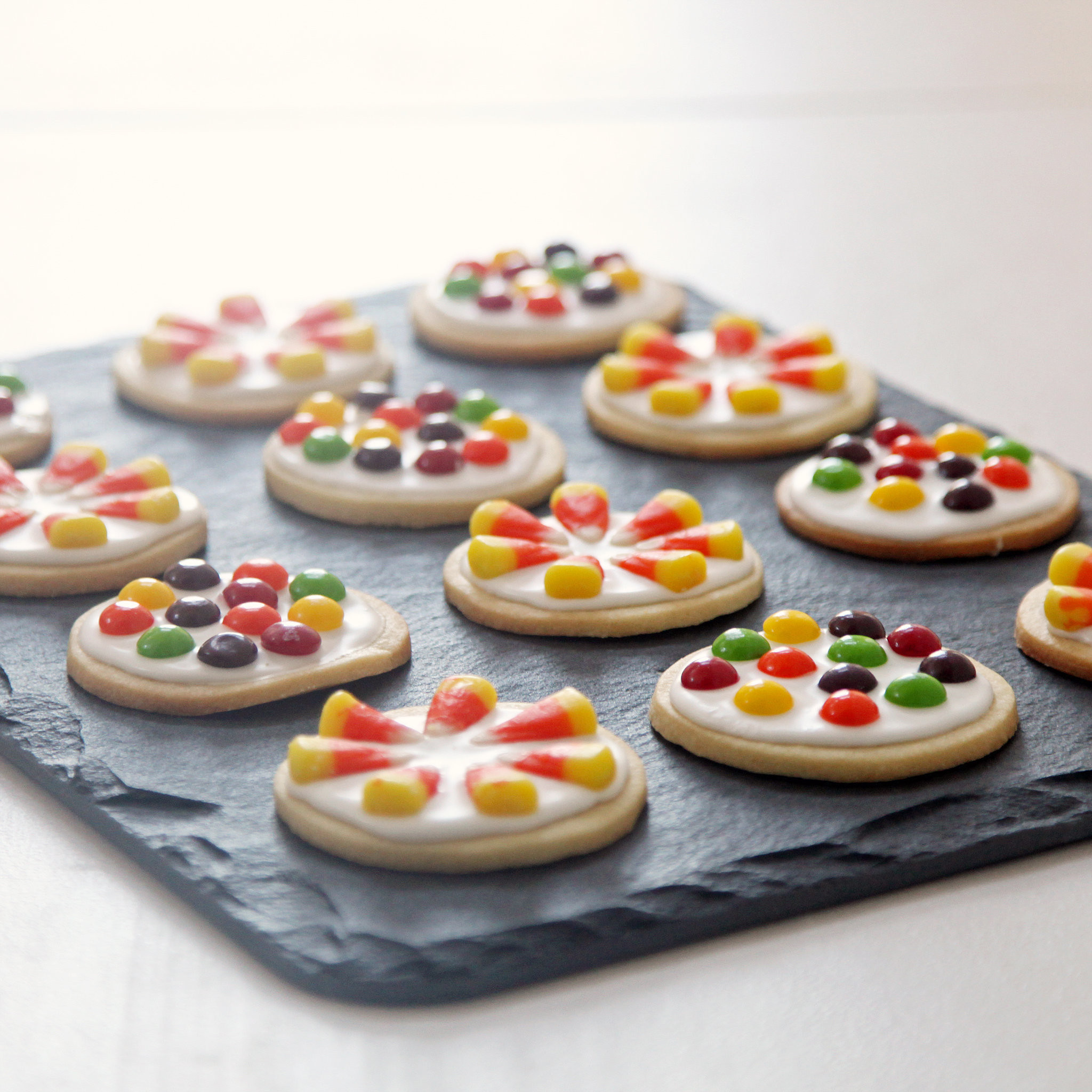 Halloween Candy Cookies  Candy Cookies