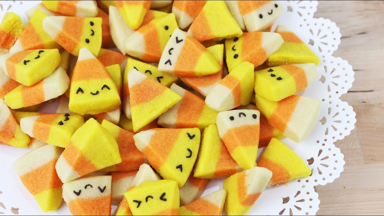 Halloween Candy Corn  How to Make Halloween Candy Corn Cookies