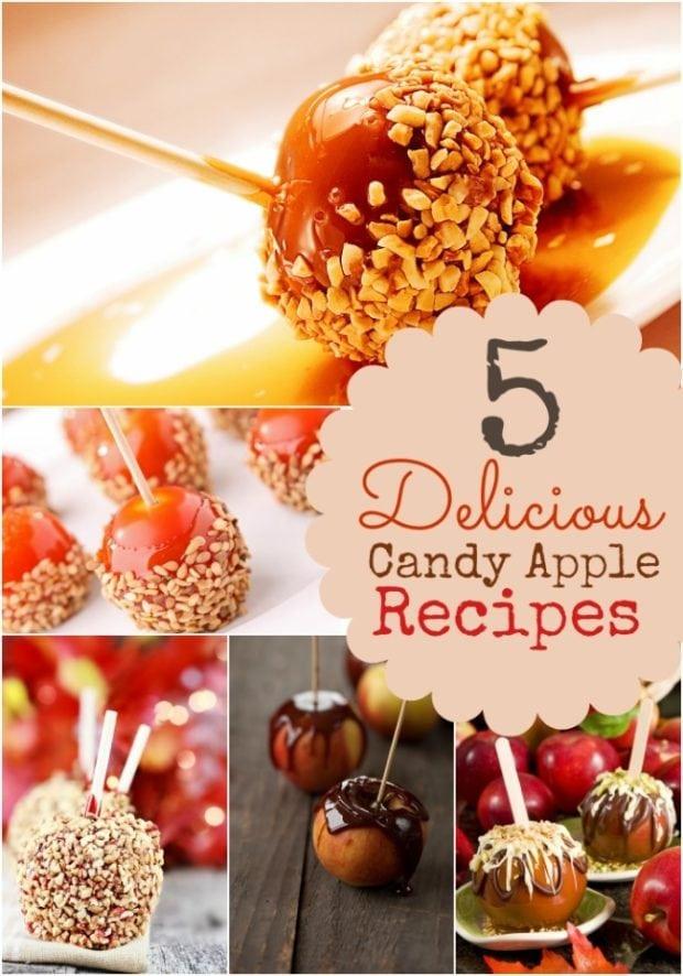 Halloween Caramel Apples Ideas  5 Candy Apple Recipe Ideas