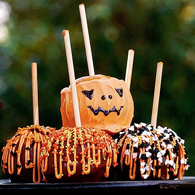Halloween Caramel Apples Ideas  Candy Apples Recipe