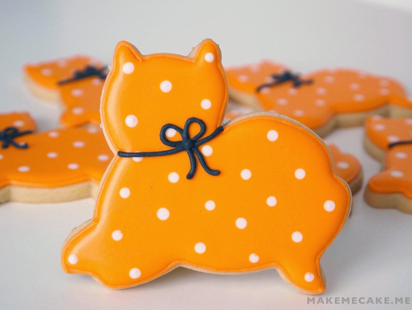 Halloween Cat Cookies  Mighty Delighty Purrfectly Simple Halloween Cat Cookies