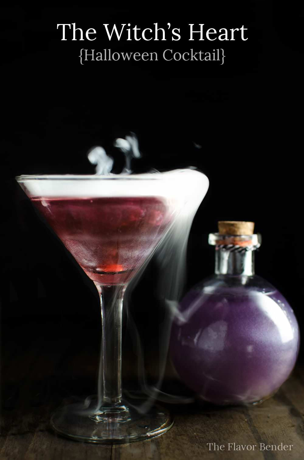 Halloween Cocktail Drinks  The Witch s Heart Halloween Cocktail