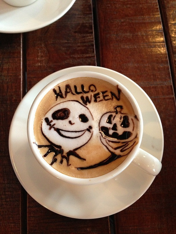Halloween Coffee Drinks  Whip up some Halloween inspired coffee drinks that will