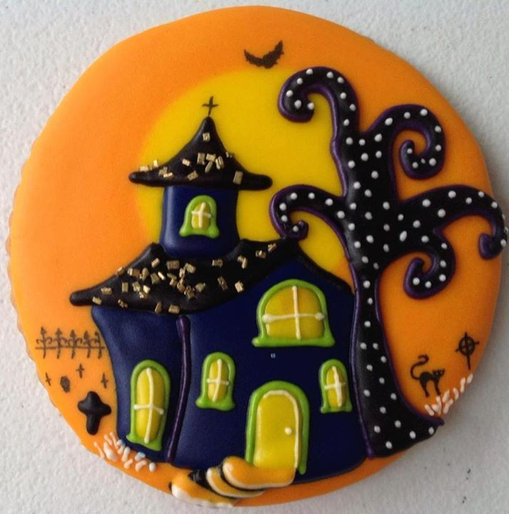 Halloween Cookie Cakes  n 714 × 720 pixels