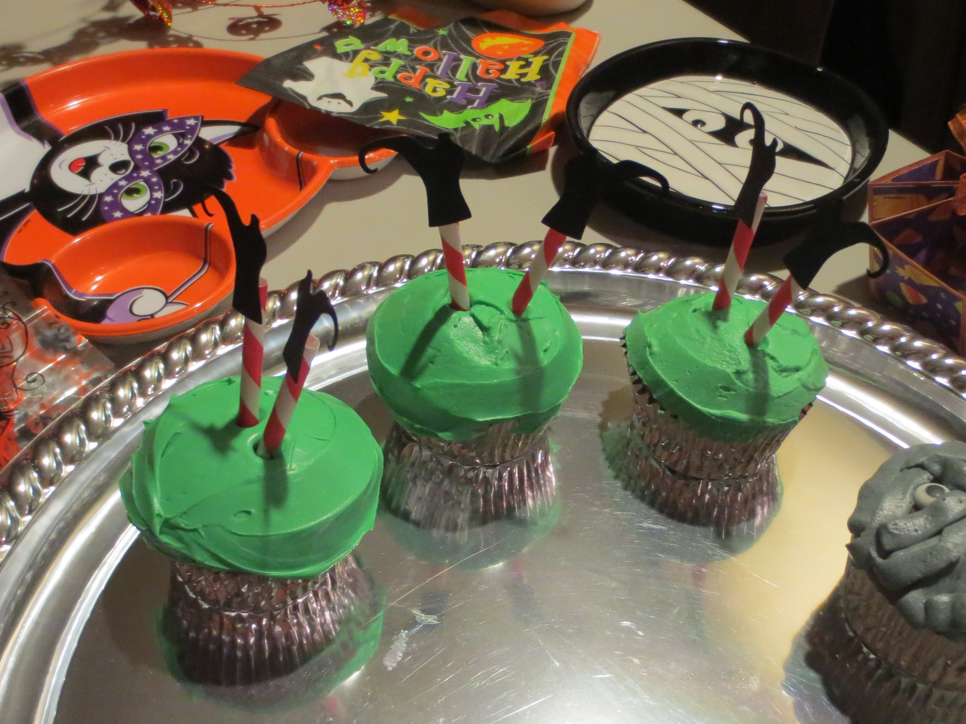 Halloween Cookies And Cupcakes  Nibbles of Tidbits a Food BlogCakes & Cupcakes Archives