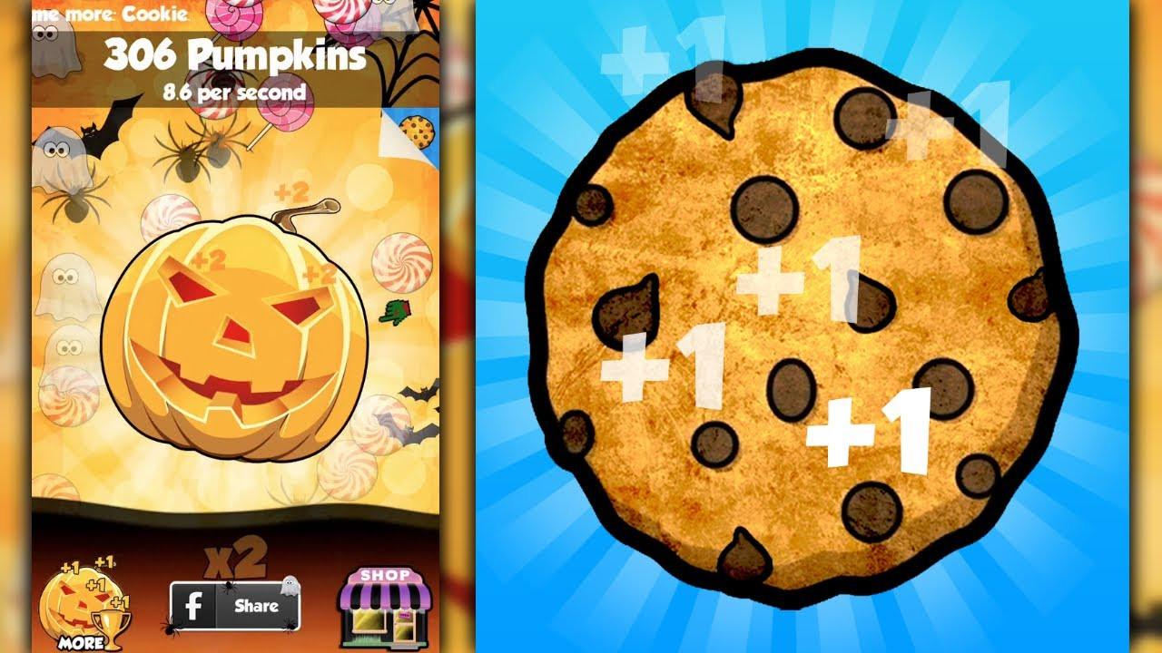 Halloween Cookies Cookie Clicker  COOKIE CLICKERS HALLOWEEN EDITION iPhone Gameplay