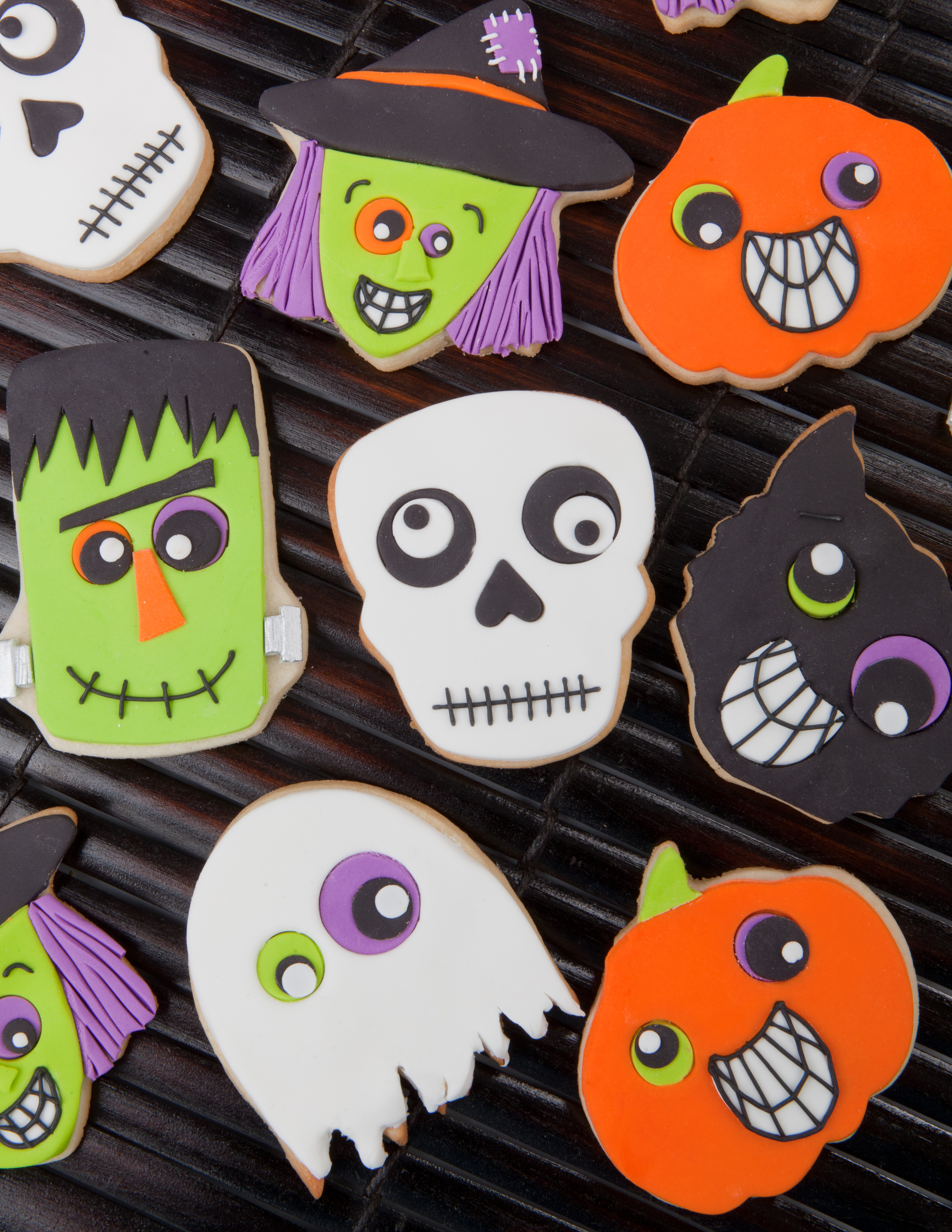 Halloween Cookies Decorations  halloween cookies