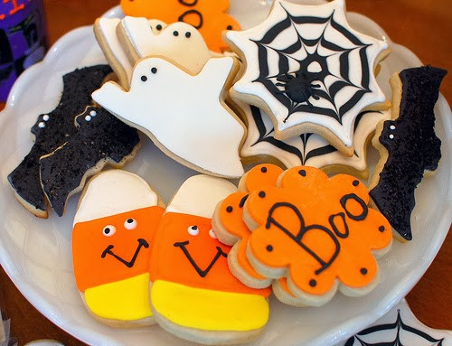 Halloween Cookies Decorations  Healthiana Cookies Decorating Ideas For Halloween 2013