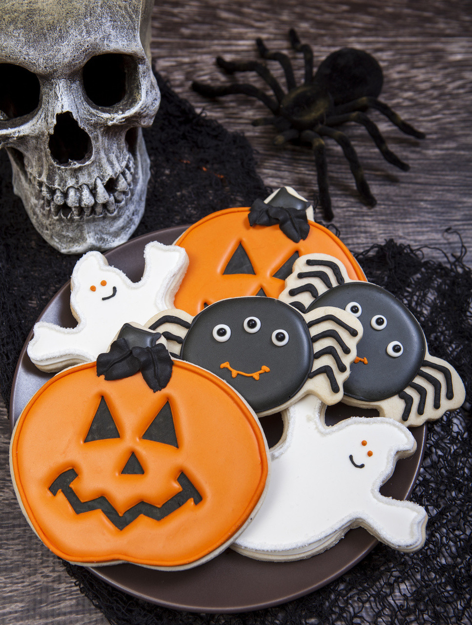 Halloween Cookies Decorations  Spooky Cookie Halloween Cookie Decorations
