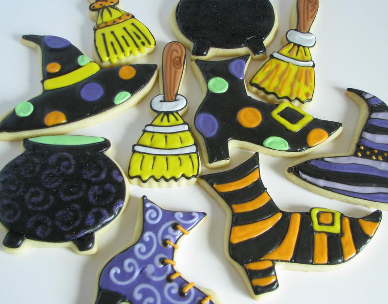 Halloween Cookies Delivered  September 2011