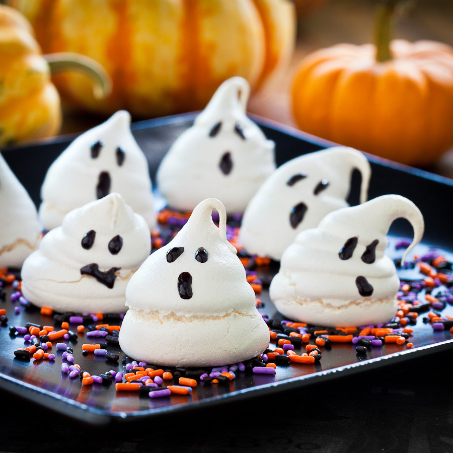 Halloween Cookies For Kids  Cute Food For Kids 48 Edible Ghost Craft ideas for Halloween