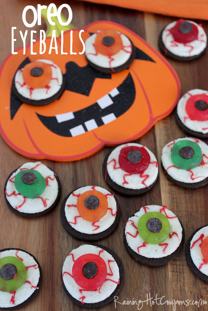 Halloween Cookies For Kids  Oreo Eyeballs Halloween Recipe