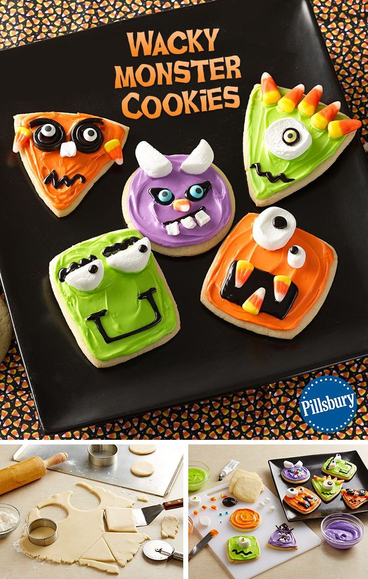 Halloween Cookies For Kids  17 Best images about Halloween recipes on Pinterest