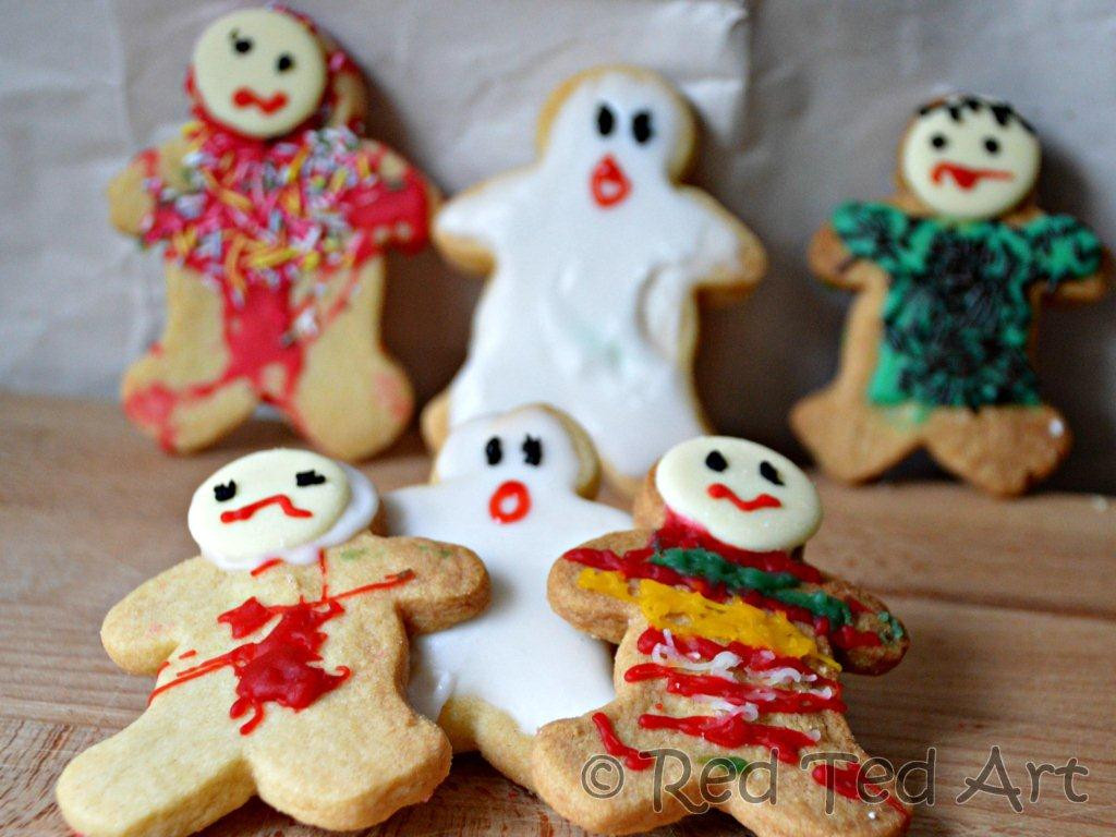 Halloween Cookies For Kids  Halloween Cookies Ideas Frankenstein Ghosts and Zombies