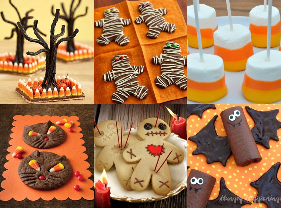 Halloween Cookies Ideas  Pop Culture And Fashion Magic Easy Halloween food ideas