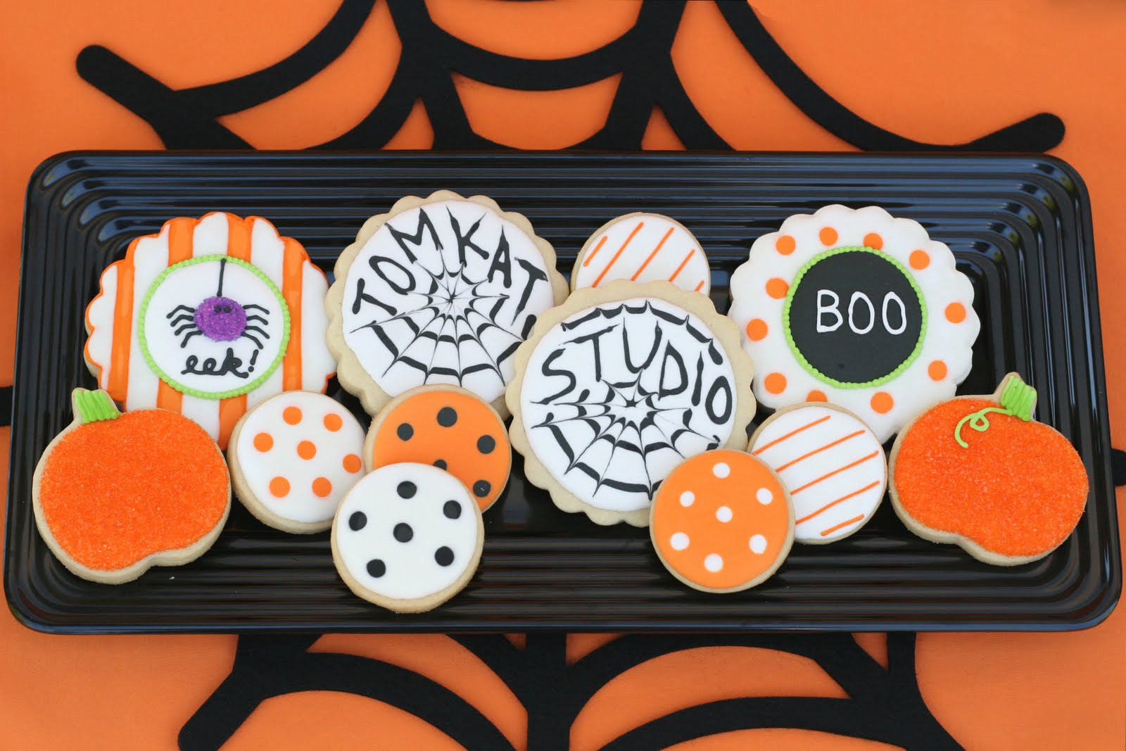Halloween Cookies Pictures  Halloween Treats Table – Glorious Treats