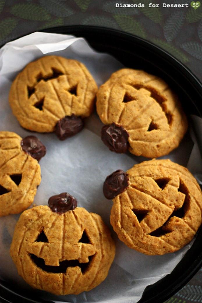Halloween Cookies Recipe  Pumpkin Halloween Cookies 5 Pumpkin Halloween Cookies You