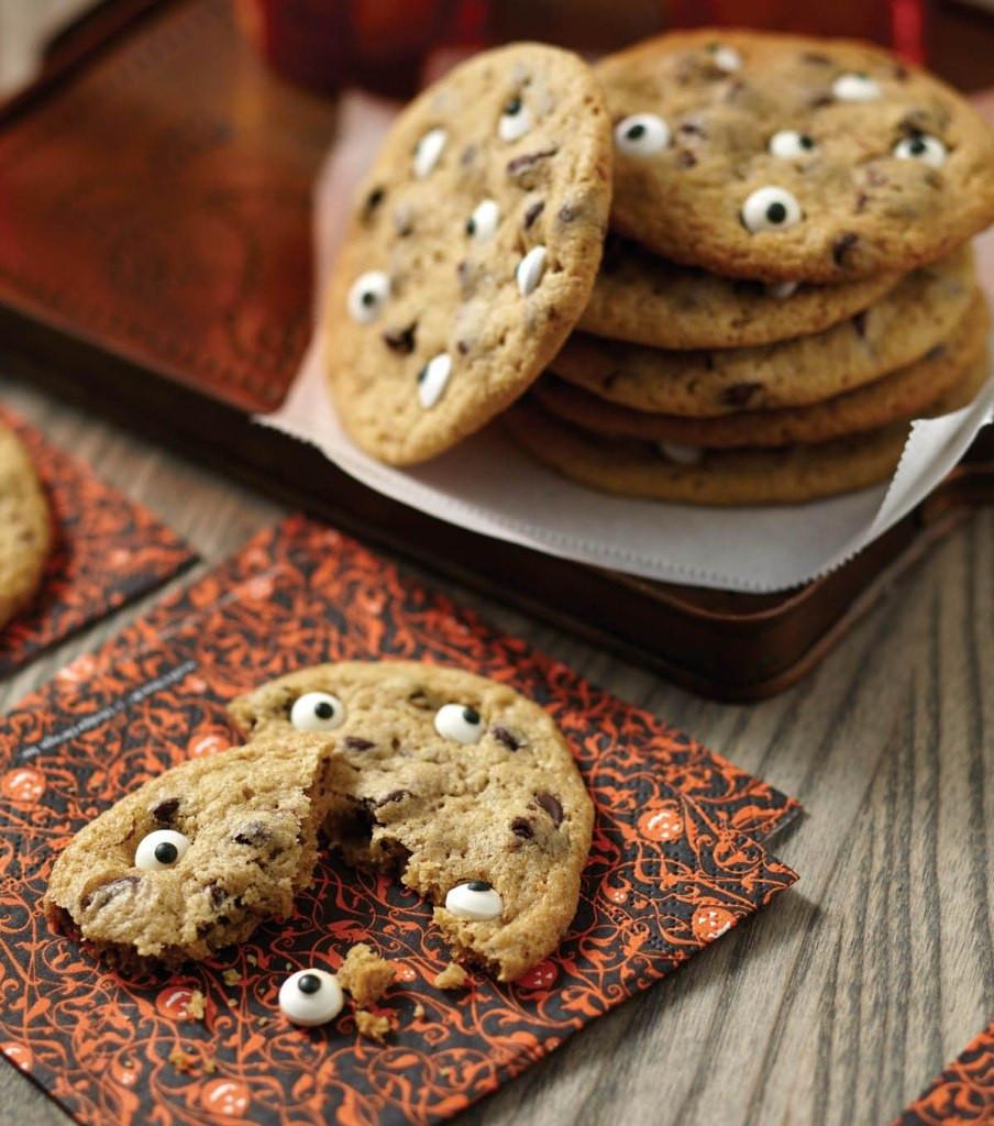Halloween Cookies Recipe  Spooky Halloween Eyeball Cookies Recipe