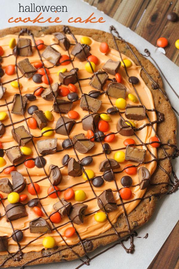 Halloween Cookies Recipe  Halloween Cookie Cake